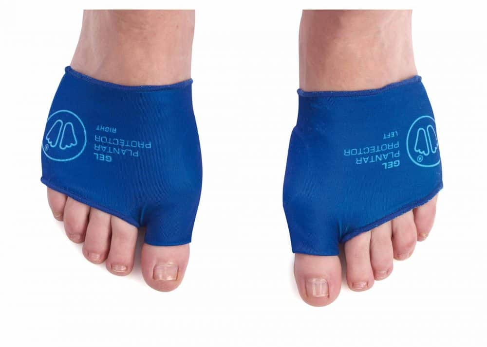 Sidas Gel Plantar Protector (X2) On feet