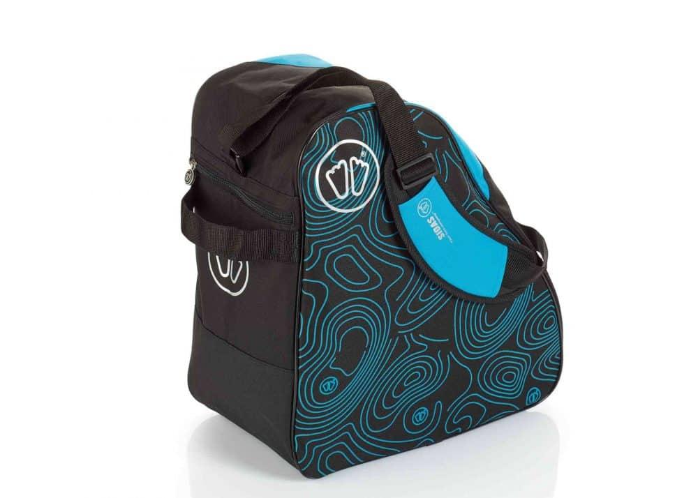 Sidas Boot Bag Black-Blue Back