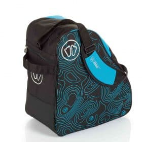 Sidas Boot Bag Black-Blue Back