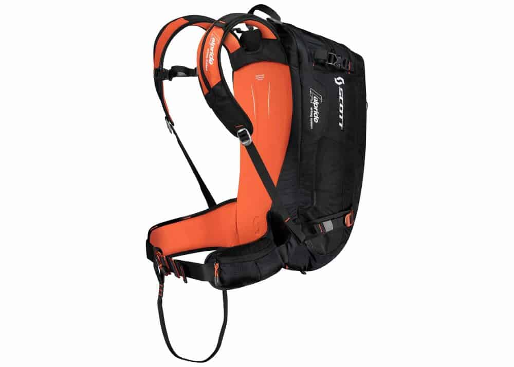 Scott Backpack Guide AP 30 Black-Burnt Orange