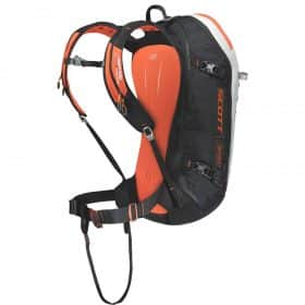 Scott Backpack Patrol E1 30 AP Black-Tangerine Orange Back