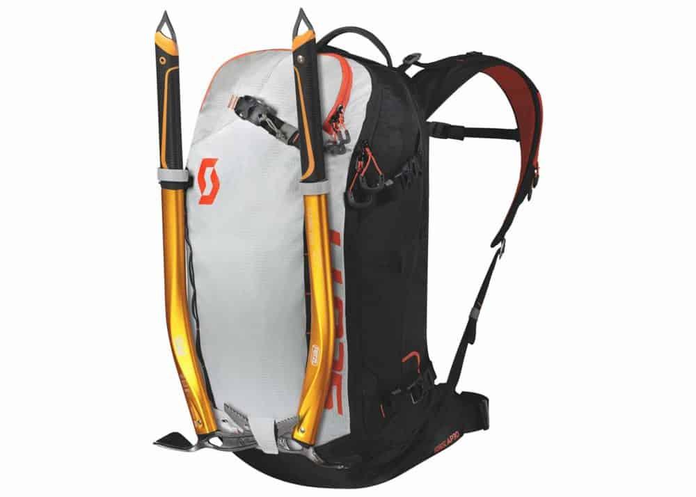 Scott Backpack Patrol E1 30 AP Black-Tangerine Orange Axe Carry