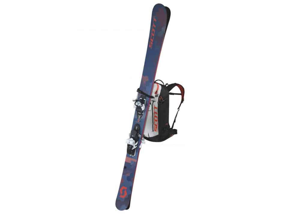 Scott Backpack Patrol E1 30 AP Black-Tangerine Orange Ski Carry