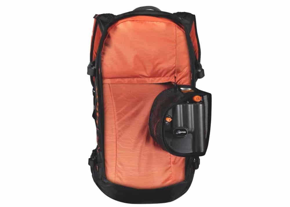 Scott Backpack Patrol E1 30 AP Black-Tangerine Orange Inside 2