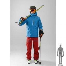 Scott Ski Pole Cascade C Black 120-140cm