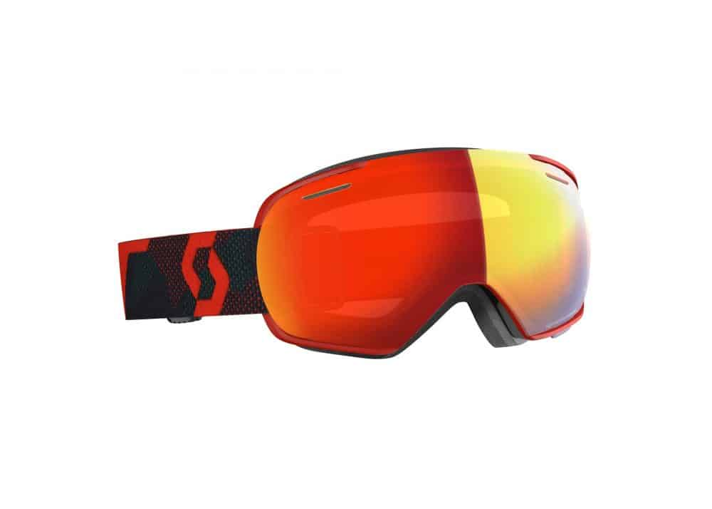 Scott Goggle Linx Red-Blue Nights/Enhancer Red Chrome