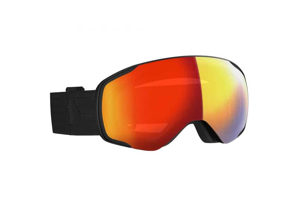 Scott Goggle Vapor LS Black/Light Sensitive Red Chrome
