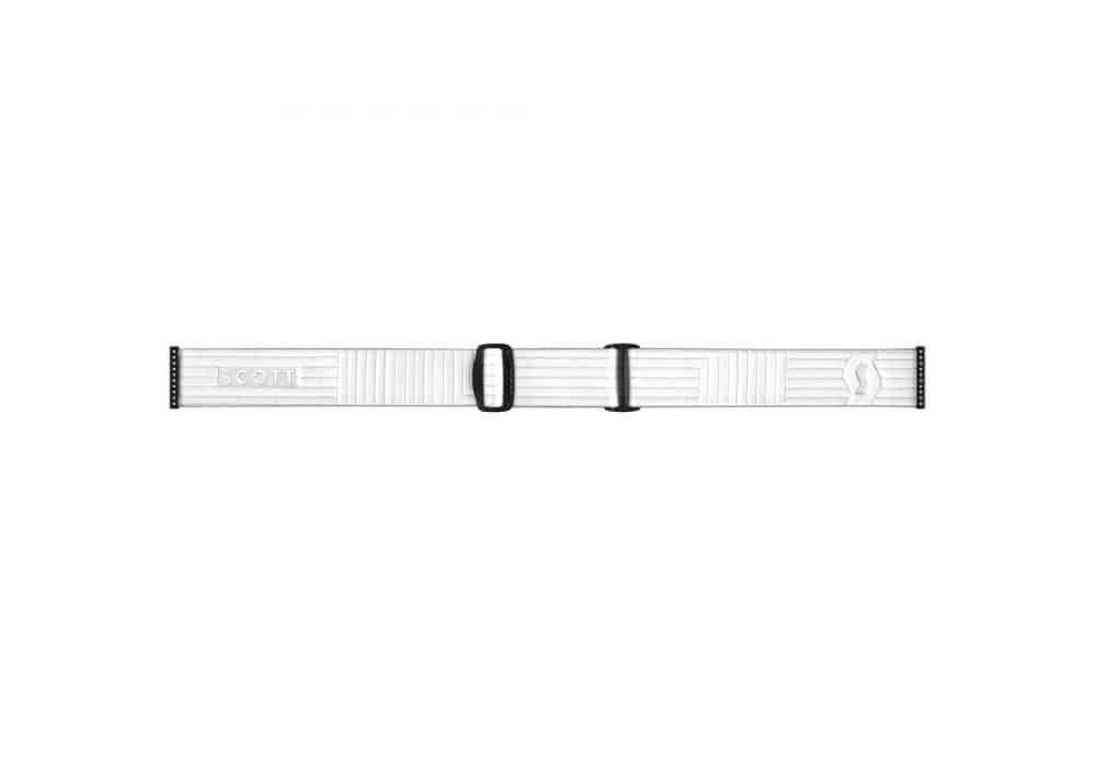 Scott Goggle Fix White/Enhancer Red Chrome