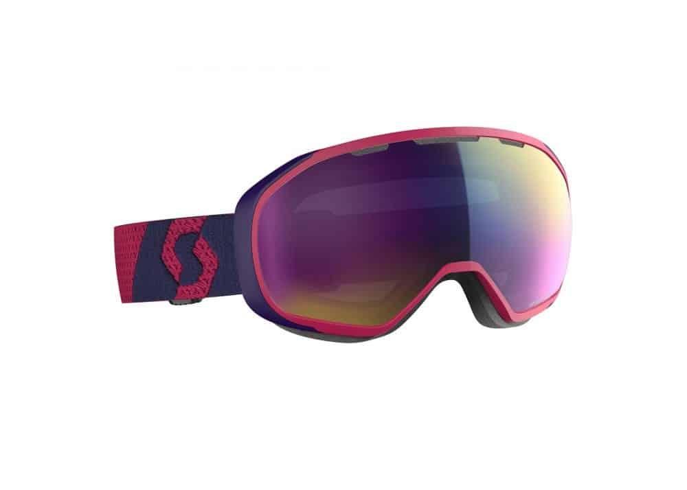 Scott Goggle Fix Deep Violet/Enhancer Teal Chrome