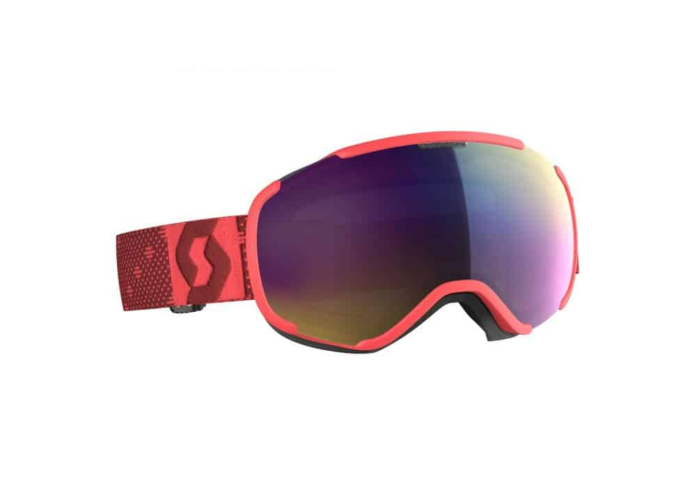 Scott Goggle Faze II Pink/Enhancer Teal Chrome