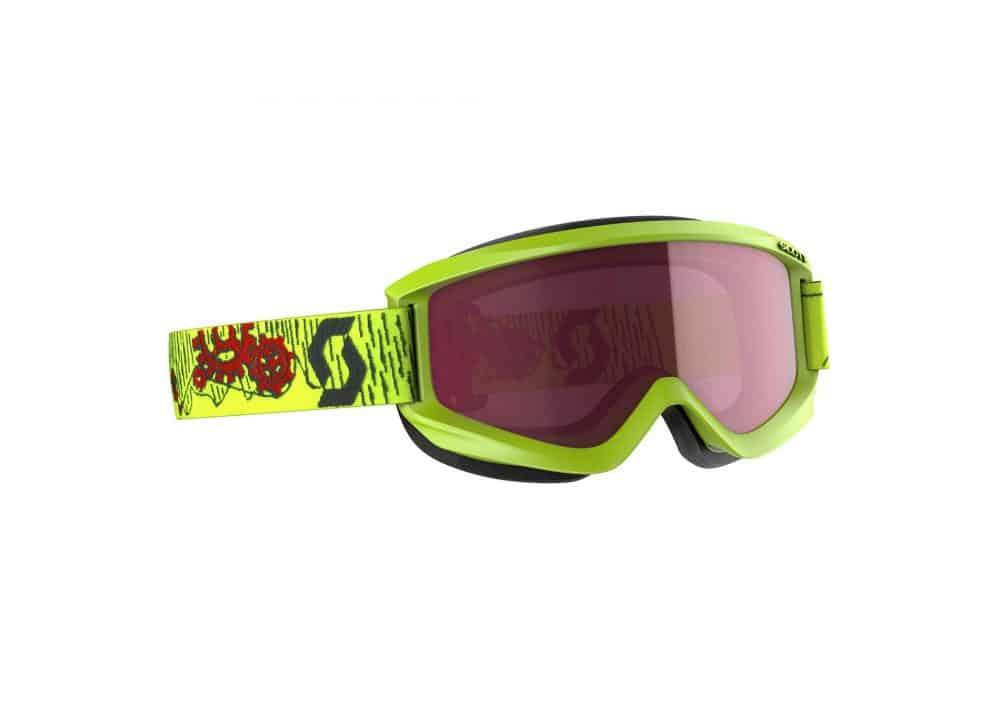 Scott Goggle JR Agent Yellow/Enhancer