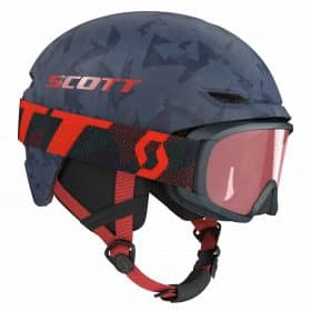 Scott Combo Helmet Keeper 2 + Goggle JR Witty Blue Nights