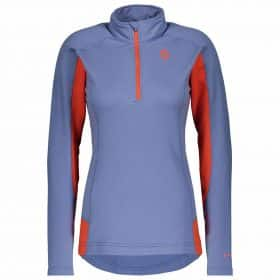 Scott Pullover Women Defined Light Riverside Blue/Grenadine Orange