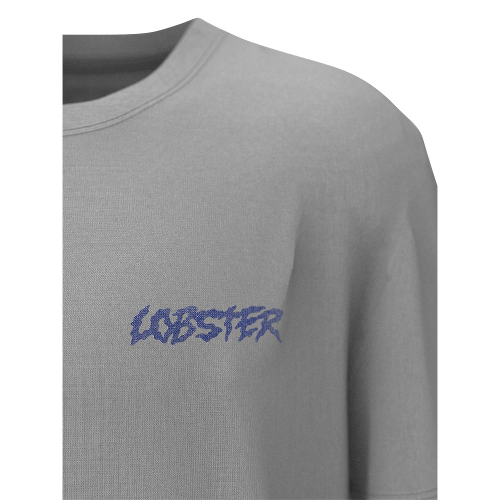 Lobster T-Shirt Snake Light Grey