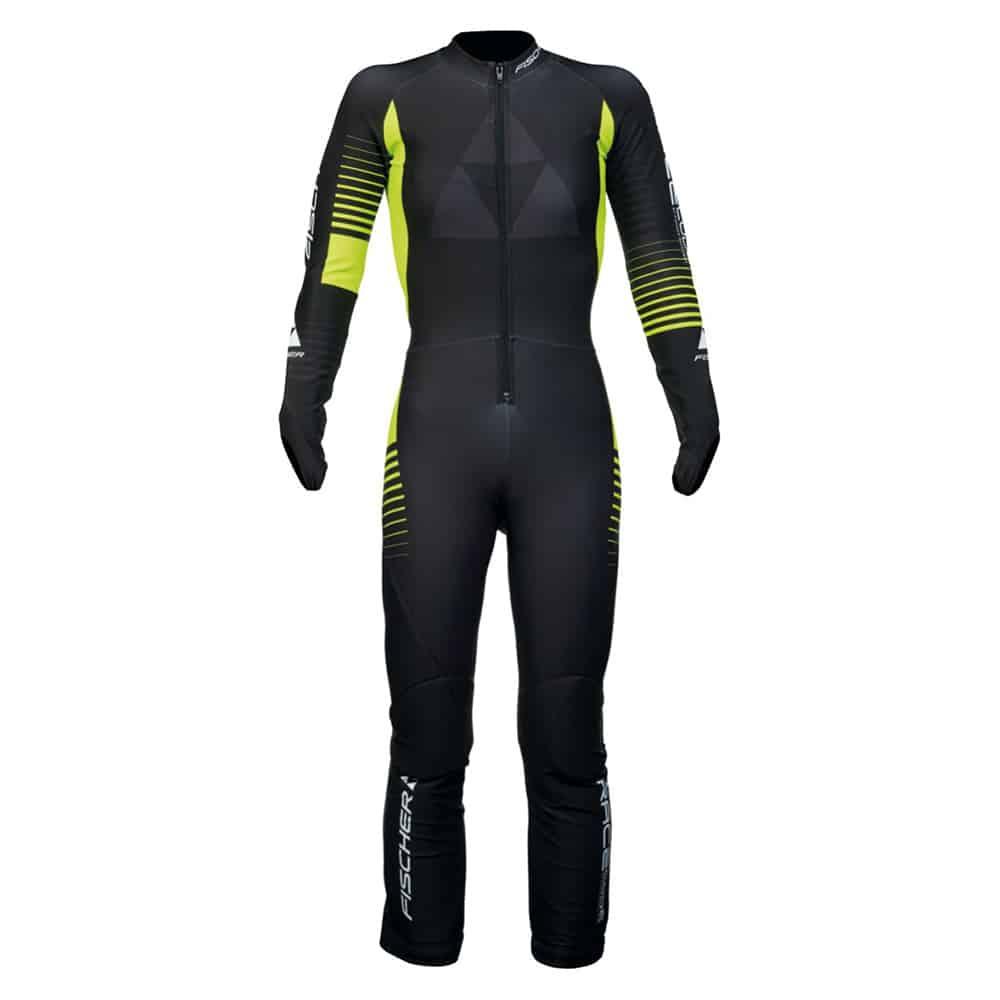 Fischer Junior Race Suit Black