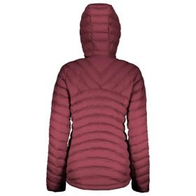 Scott Jacket Women's Insuloft 3M Mahogany Red Melange