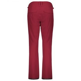 Scott Pant Women Ultimate Dryo 20 Mahogany Red