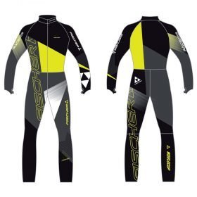 Fischer Race Suit Junior Black