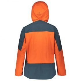 Scott Jacket Vertic Tour Tangerine Orange/Nightfall Blue