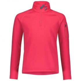 Scott 1/2 Zip Pullover Junior Defined Light Hibiscus Red