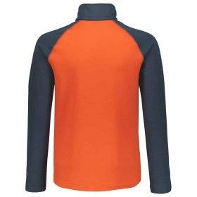 Scott 1/2 Zip Pullover Junior Defined Light Nightfall Blue/Tangerine Orange