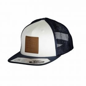 Scott Cap Leather Patch Navy/White