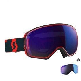 SCOTT Goggle LCG Red-Blue/Solar Blue Chrome