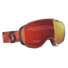 Scott Goggle Fix Orange/Enhancer Red Chrome