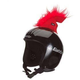 Eisbar Hairy Shark Sticker - Red