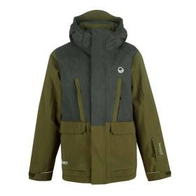 Halti Samppu Junior Ski Jacket Avocado Green