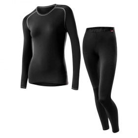 Loffler Women Set Long Transtex® Warm Black