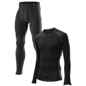 Loffler Men Set Long Transtex® Warm Black