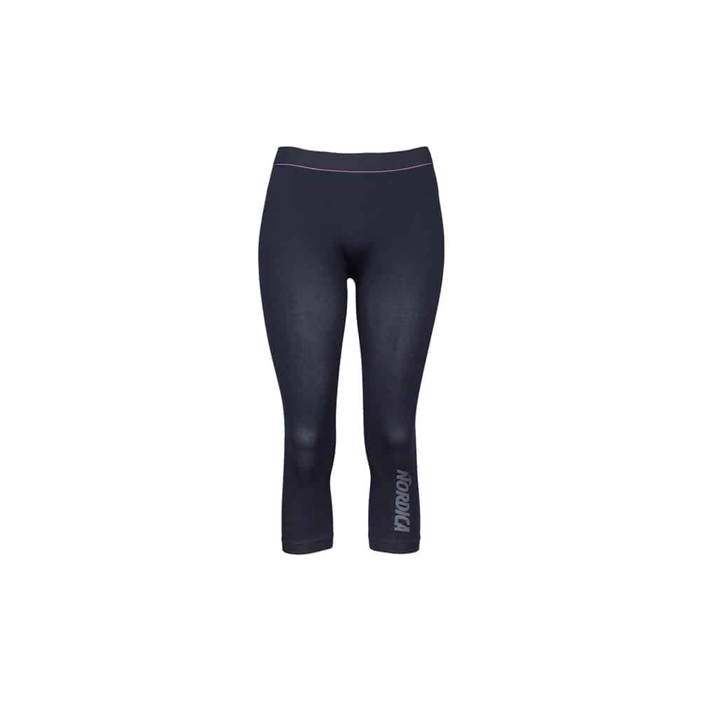 Nordica Baselayer 3/4 Pants Performance Women Navy/Giada/Pink