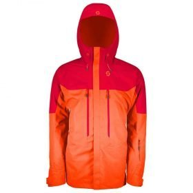 Scott Jacket Vertic 2L Insulated Royal Red/Moroccan Red