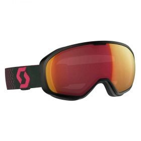 Scott Fix Goggle Black-Pink/Illuminator Red Chrome