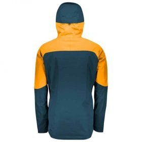Scott Jacket Ultimate Dryo 10 Nightfall Blue/Harvest Yellow