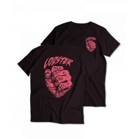 Lobster Sender Tee Black