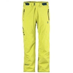 Scott Pant Terrain Dryo Chartreuse Yellow
