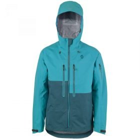 Scott Jacket Explorair 3L Sea Blue/Coral Blue