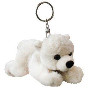 Eisbar Polar Bear Keychain - White