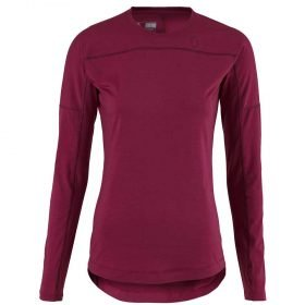 Scott Shirt Women Base Dri Crew Sangria Purple