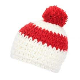 Eisbar Bennet Pompon MU White/Fiery Red