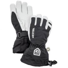 Hestra Army Leather Heli Ski Junior Black - 5 Finger