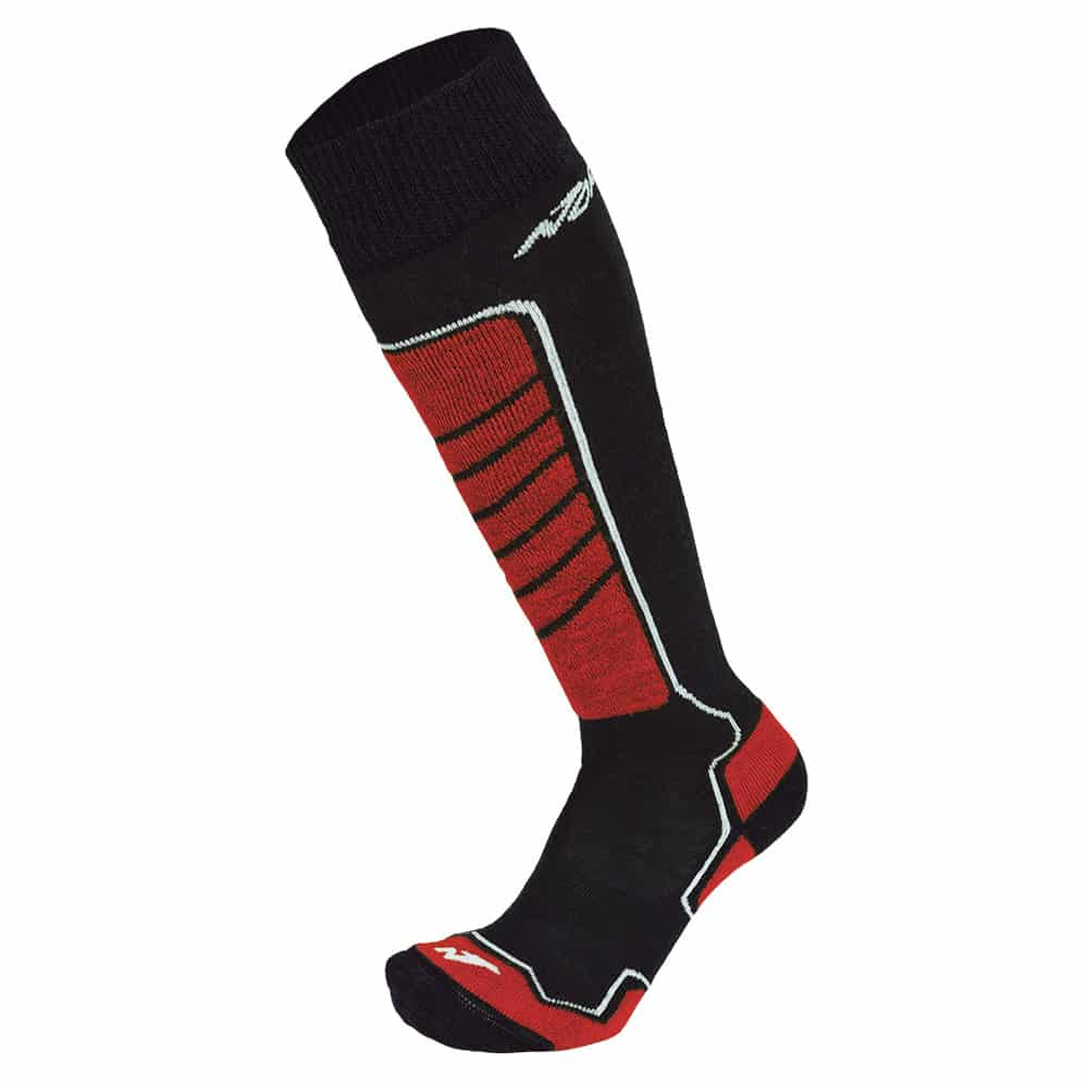 Nordica Socks All Mountain 2 Pack Black/Red