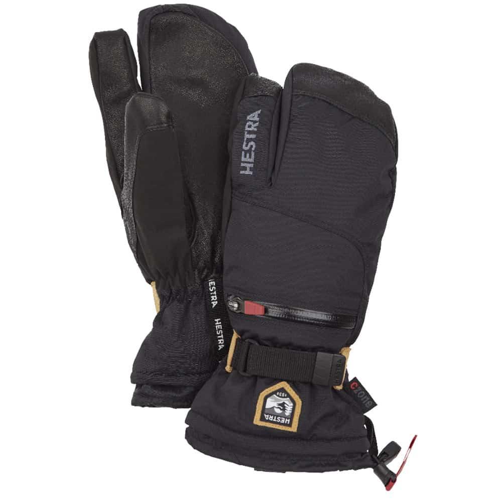 Hestra All Mountain CZone Black - 3 Finger