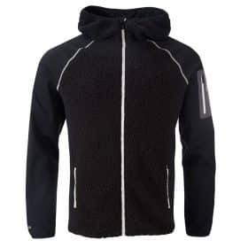 Halti Fusion Men Hybrid Zip Hoodie Black
