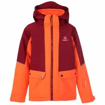 Halti Pyry Junior Drymaxx Ski Jacket Orange Glow