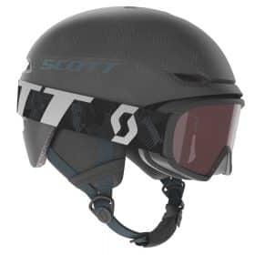 Scott Combo Helmet Junior Keeper 2+Goggle Junior Witty Dark Grey/Storm Grey