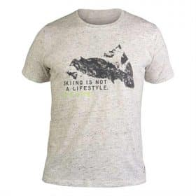 Fischer T-Shirt S/S Beaver Grey Melange