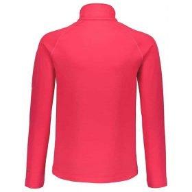 Scott 1/2 Zip Pullover Junior Defined Light Hibiscus Red